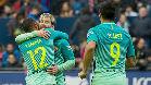 Messi culmina su recital en El Sadar con dos goles de 'Pichichi'