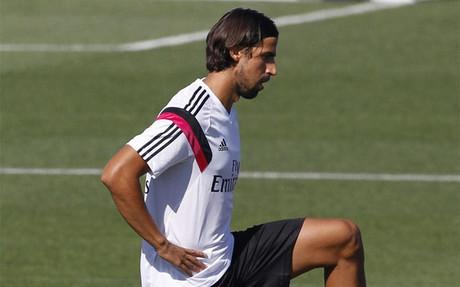 Khedira acaba su contrato con el Madrid el pr�ximo 30 de junio