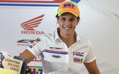 Laia Sanz se estrenar� con Honda el pr�ximo 4 de octubre