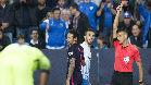 Con el Barça, Neymar sólo fue expulsado una vez