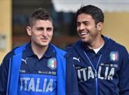 Marco Verratti, en la selección italiana