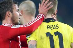 Mario G�tze (Bayern) y Marco Reus (Dortmund) son buenos amigos
