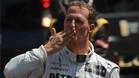 Michael Schumacher ha experimentado una leve mejoría