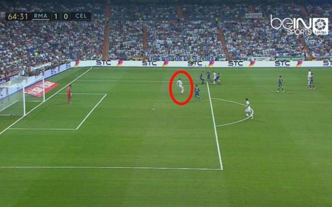 Morata est� en fuera de juego