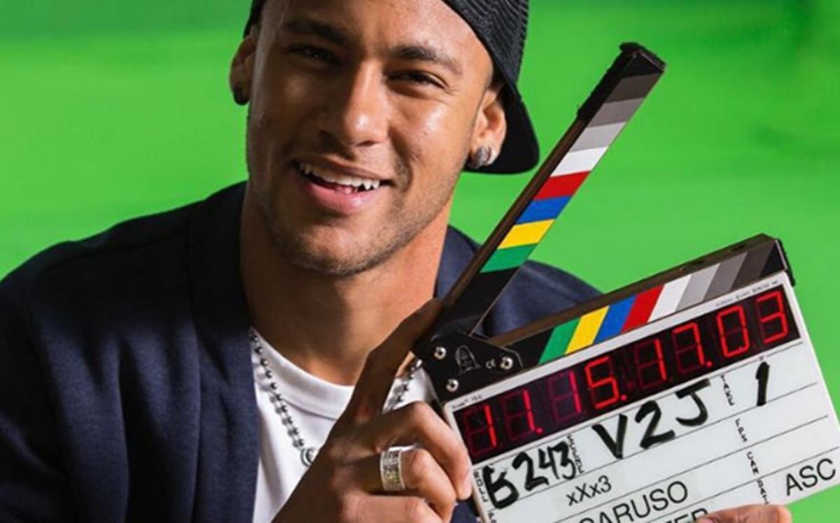 Neymar participará en una película de Hollywood