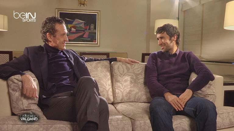 Valdano entrevista a Ra�l en beIN Sports