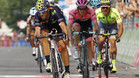 """Valverde: """"Ma�ana y pasado a por todas, para eso estoy en el Giro"""""""