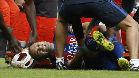 Vea la grave lesi�n de Iniesta en el Valencia - FC Barcelona (2-3). J-9, Liga Santander 2016/17