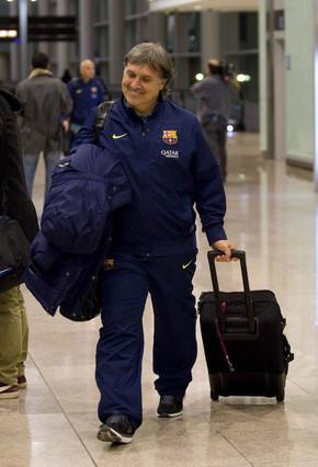 sport بعثة برشلونة طارت لمدريد