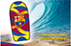 Tabla de surf del Bar�a