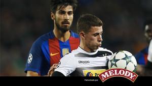 El Barcelona no tuvo problemas para barrer del campo al MGladbach