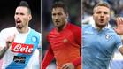 Hamsik, Totti e Immobile volvieron a marcar diferencias en Italia