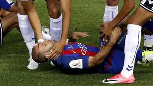 Mascherano sufrió una conmoción en la final
