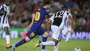 La Juventus eliminó al Barça en cuartos de final
