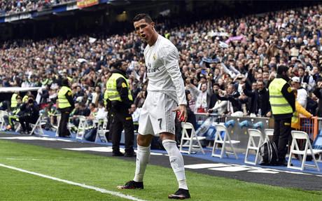 Cristiano Ronaldo solo ha marcado 7 goles lejos del Bernab�u esta temporada
