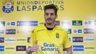 Hélder Lopes, en su presentación como nuevo jugador de la UD Las Palmas