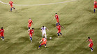 Messi contra nueve, la foto que se hizo viral