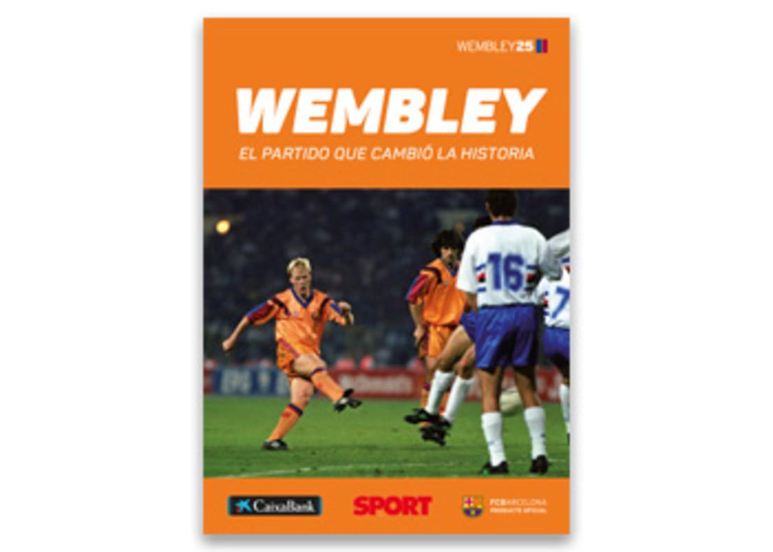 Libro Sant Jordi 2017: 'Wembley 25 años. El partido que cambió la historia'