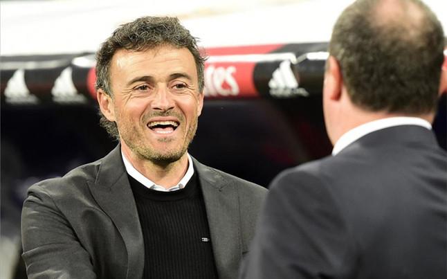 """Luis Enrique, sobre Ben�tez: """"Ser entrenador es una profesi�n de riesgo"""""""