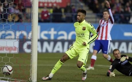 Neymar est� destacando por su faceta goleadora en su segunda temporada en el FC Barcelona
