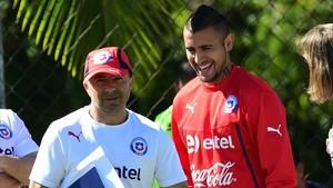Sampaoli sufrió en primera persona los desmanes de Vidal en la selección chilena