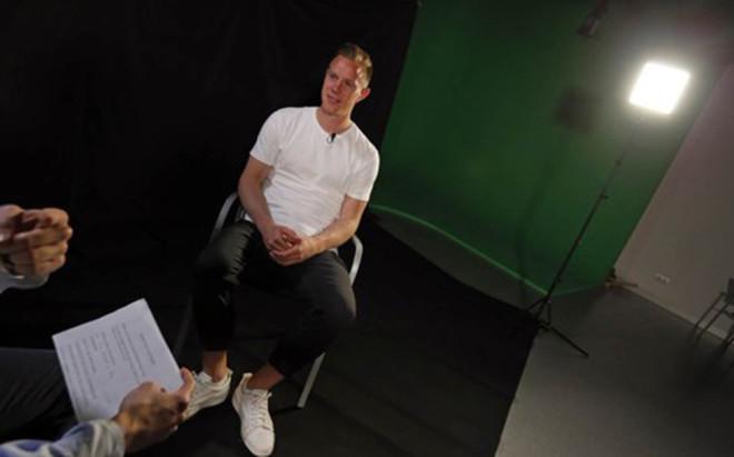 Ter Stegen, en su entrevista al programa 'Hora B' de Bar�a TV