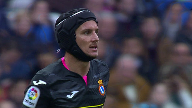 Video resumen: Piatti jugó con casco el Madrid - Espanyol