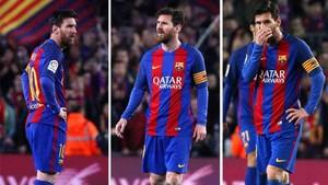 Messi estaba desolado durante el FC Barcelona - Leganés