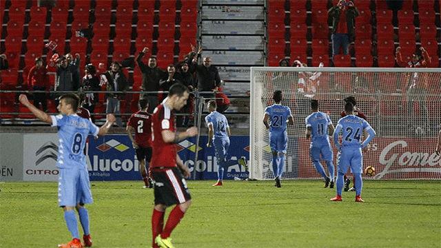 Video resumen Mirandés - Girona (0-2). Jornada 27, Liga 1|2|3 2016-17