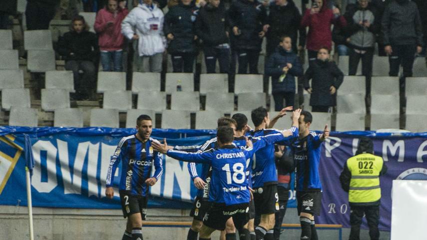 Video resumen Oviedo - Girona (2-0). Jornada 31, Liga 1|2|3 2016-17