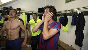 Sergi Roberto rememoró un histórico ascenso con el filial