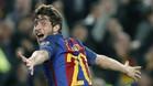 Sergi Roberto, jugador del FC Barcelona distinguido este martes con la octava edición del Premi Barça Jugadors