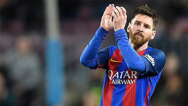 Resultado de imagen para Ya es oficial: Leo Messi renueva con el Barcelona
