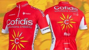 Consigue uno de los 5 maillots de Cofidis que sorteamos