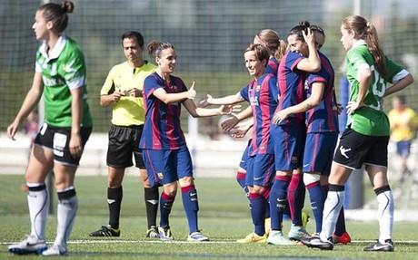 El Bar�a femenino viene de golear al Oviedo Moderno (5-1)