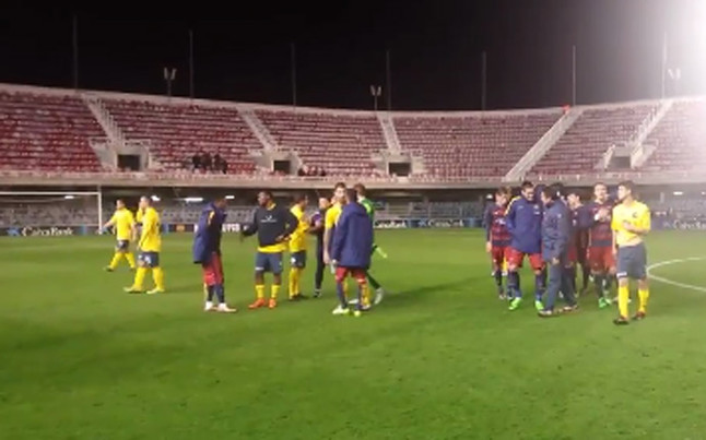 Cuarta victoria consecutiva del Barcelona B