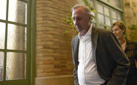 Johan Cruyff habl� sobre el tratamiento del c�ncer de pulm�n que le detectaron en octubre