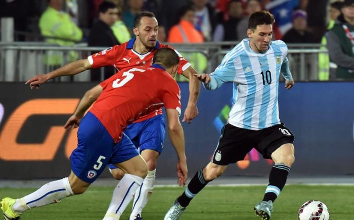 Argentina se encomienda a Messi ante Chile
