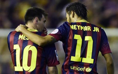 Neymar, Messi sí puede escoger