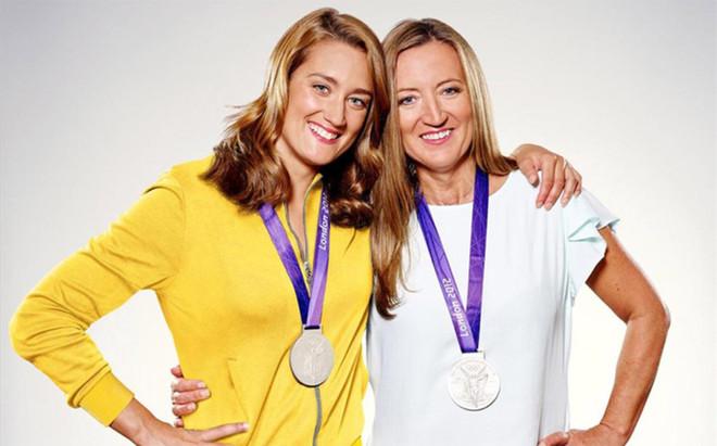 Mireia Belmonte, junto a su madre, protagonista del Sport&Style