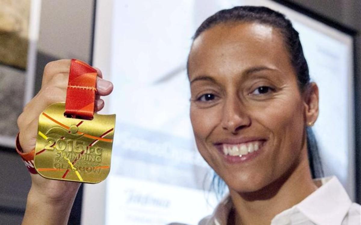 Teresa Perales se propone nadar siete pruebas en los JJOO de Río