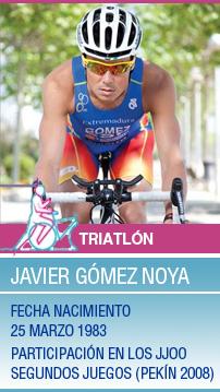 """Javier Gómez-Noya: \""""En Londres sé lo que me espera\"""""""