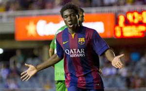 El futuro de Dongou en el Barcelona B está en el aire