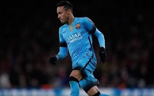 Neymar, en el Emirates