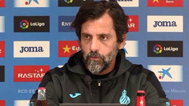 Quique Sánchez Flores espera con ganas el partido en Cornellà-El Prat