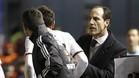 Voro acabó muy decepcionado por el empate cedido por el Valencia este lunes ante Osasuna