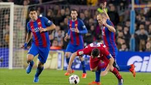 Imagen del último Barça-Atlético