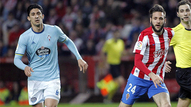 Video resumen Sporting - Celta (1-1). Jornada 24, Liga Santander 2016-17