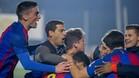 Gerard López ha creado un equipo campeón en el Barcelona B