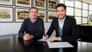 Sahin extendió su vínculo con el Dortmund hasta 2019